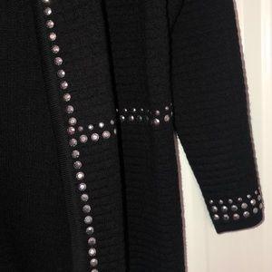 Alfred Dunner Jackets & Coats - NWOT! Black Alfred Dunner Jacket W/Bling!